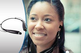 £9.99 instead of £47 (from Gizmo Gadgets) for a pair of wireless Bluetooth headphones - save 79%