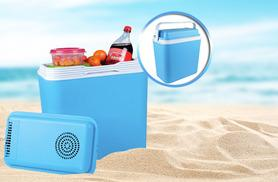 £22 instead of £54 (from Zoozio) for a 22-litre 12V portable cool box, perfect for picnics and family outings - save 59%