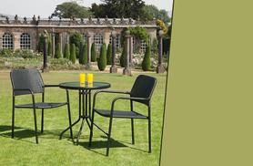 £59.99 instead of £95.01 for a 3-piece rattan garden dining furniture set from Wowcher Direct - save 37%