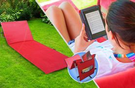 £9.99 (from SS Superstore) for a reclining foldable sun lounger