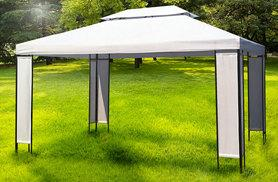 £89 (from VidaXL) for a large luxury garden gazebo - choose from two designs