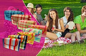 £8 instead of £29.99 (from Groundlevel.co.uk) for a large fleece picnic blanket, £10 for extra-large - choose from eight designs and save up to 73%