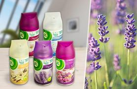 £13 instead of £22.50 (from Merchtopia) for a set of five 250ml Air Wick Freshmatic spray refills - make your home scent-sational this summer and save 42%