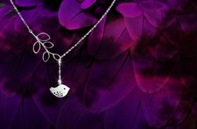 £6 instead of £30 (from Cian Jewels) for a tree and bird necklace, £10 for two - save up to 80%