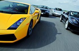 £49 for a triple supercar driving blast experience from Buyagift - get behind the wheel of a Porsche or Lamborghini