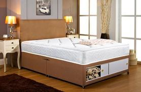 From £149 for a double divan bed and mattress, or from £179.95 for a king divan bed and mattress
