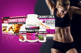 £39 instead of £169.99 (from Skinny Diva) for a five-piece weight management mega pack including tummy patches, raspberry ketones and more - save 77%