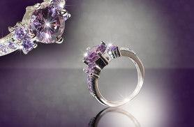 £34.99 instead of up to £279 (from Your Ideal Gift) for a white gold amethyst ring - save up to 87%