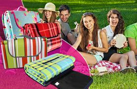 £5.99 instead of £29.99 (from Groundlevel.co.uk) for a large fleece picnic blanket, £8.99 for extra-large - choose from eight designs and save up to 80%