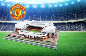 £14.99 instead of £30 for a 3D football stadium puzzle from Wowcher Direct - choose from four Premier League stadiums and save 50%