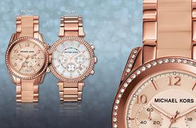 From £135 for a ladies' Michael Kors watch - choose from four designs and save up to 47%