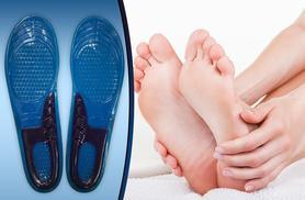 £5 instead of £19.99 (from Fizzy Peach) for a pair of 'arch support' gel silicone insoles - treat your feet and save 75%