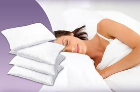 £9.99 instead of £42.96 for a four-pack of Super Bounce Back pillows - save 77%