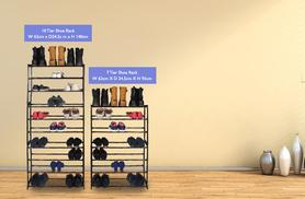 £6.99 instead of £22 for a 7-tier shoe rack, or £9.99 for a 10-tier rack - save up to 68%