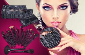 £7.99 instead of £14.99 for a LaRoc 32-piece makeup brush set from Wowcher Direct - save 47%
