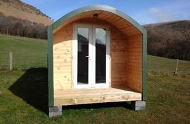 £30 for a one-night glamping experience for 2, £49 for two nights for 2 or £69 for two nights for 3 people with Grange Trekking, Abergavenny - save up to 40%