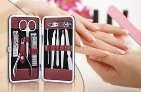 £2.99 instead of £40 (from Alvi's Fashion) for a 10-piece manicure set, £5 for two sets - save up to 93%