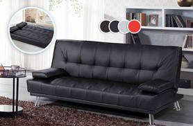 £150 instead of £299 for a Brooklyn faux leather sofa bed in a choice of four colours - save 50%