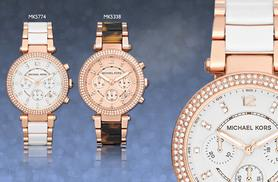 £149 instead of £275.01 for a ladies' Michael Kors watch - choose from 2 designs and save 46%