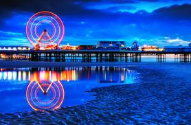 £49 (at Alfie's Hotel) for a one-night Blackpool break for two people including dinner, wine and breakfast, or £89 for two nights - save up to 51%
