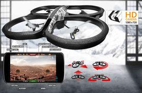 £245 instead of £279.99 for a smartphone controlled AR Elite Edition Drone 2.0 with on-board Wi-Fi and live video feed function - save £34.99
