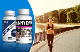 £9.99 instead of £49.99 (from Skinny Diva) for a two-month* supply of T5 Fat Burner and colon detox capsules, £17.99 for a four-month* supply - save up to 80%