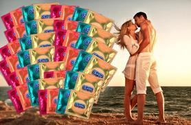 £7.99 instead of £25 (from Merchtopia) for 24 Durex in four different varieties, £17 for 60 Durex - stay safe and save 68%