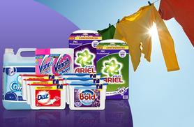 £49.99 instead of £99.99 for a one-year supply* of laundry detergent including Ariel, Comfort, Vanish, Daz and Bold - save 50%