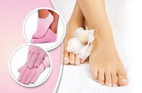 £4 instead of £24.99 (from Quick Style) for moisturising gloves or socks, or £7 for gloves and socks - save 84%