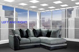 £299 (from Abakus Direct) for a stylish L-shape corner sofa - choose from 4 designs