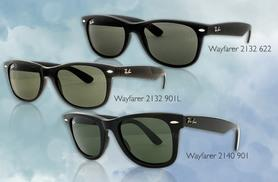 From £60 instead of £105 for a pair of Ray-Ban sunglasses - choose from 11 styles and save up to 43%