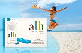 £39 instead of £49.90 (from Chemist Direct) for a 4-week* supply of Alli weight management supplements - save 22%