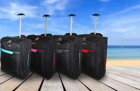 £11 instead of £43.99 (from Trendy Look) for cabin-approved wheelie hand luggage - choose from six designs and save 75%