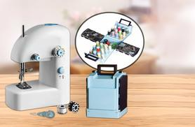 £9.99 instead of £29.99 for a portable sewing machine, or £14.99 for a portable sewing machine and sewing kit - save up to 67%