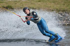 £14.50 instead of up to £32 for a beginners' wakeboarding session at Wakelake, Staffordshire - save up to 55%