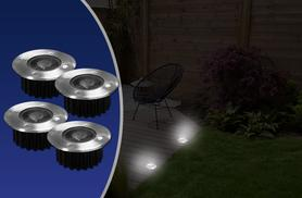 £6.99 instead of £16 (from Zoozio) for a four-pack of stainless steel solar decking lights, £12.99 for an eight-pack - save up to 56%