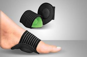 £3.99 instead of £14.99 (from Aneeks) for a cushioned 'foot arch support', £6.99 for two - treat your feet and save up to 73%