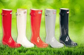 £25 instead of £36 (from Avendita) for a pair of kids' Hunter wellies, £49.99 for an adult pair - choose from 11 colours and save up to 31%
