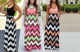 £9.99 instead of £34.99 (from iLuvBoutique) for a stylish summer maxi dress - choose from three colours and save 71%