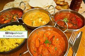 £16 instead of up to £39.40 for an Indian Thali dining experience for two including a glass of wine or half-pint of beer each at The Khukuri, Edinburgh - save 59%
