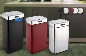 £17.99 instead of £93 for a 28L stylish sensor bin, £23.99 for 35L and £29.99 for 45L- save up to 81%