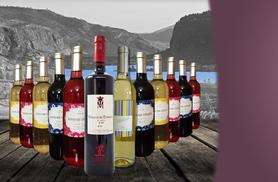 £34 instead of £159.95 (from Premium Rioja) for 12 bottles of Spanish wine - savour reds, whites and rosés and save 79%
