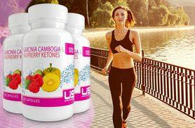 £17 instead of £119.97 for a three-month* supply of raspberry ketone and garcinia cambogia capsules from Wowcher Direct - save 86% + DELIVERY INCLUDED!