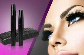 £7.99 instead of £22.99 (from SalonBoxed) for a set of two 3D fibre lash mascaras with a carry case - save 65%
