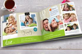 """£2 instead of £12.99 (from Truprint) for a soft cover personalised 7"""" x 5"""" photobook - save a picture perfect 85%"""