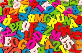 £4 instead of £20 (from Alvi's Fashion) for 100 multicoloured mixed plywood alphabet letters, £6 for 200 - save up to 80%