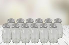£7.99 instead of £15.91 (from Moobarb) for a set of 12 200ml milk bottles with silver lids - save 50%