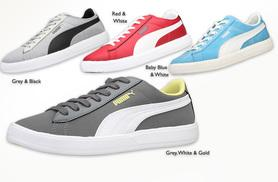 £25 instead of £50 for a pair of Puma Archive trainers valid in UK sizes 3-11 - choose from 16 colours and save 50%