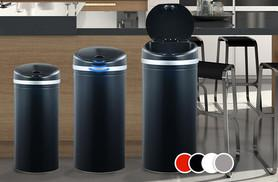 £19.99 instead of £89.99 for a 30-litre stainless steel automatic sensor bin, £24.99 for 42-litre, £34.99 for 50-litre - save up to 78%