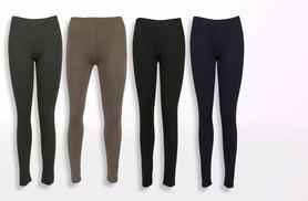 £6 instead of £17.98 (from The Fashion City) for two pairs of coloured leggings - choose from 16 colours and save 67%
